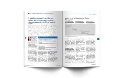 Schulleitungen und Unternehmen: Partner bei Veränderungsprozessen