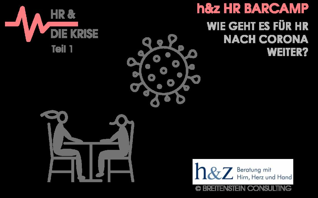 h&z HR BarCamp  am 24.09.2020