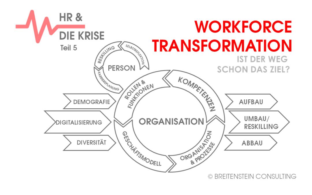 WORKFORCE TRANSFORMATION – Ist der Weg schon das Ziel?